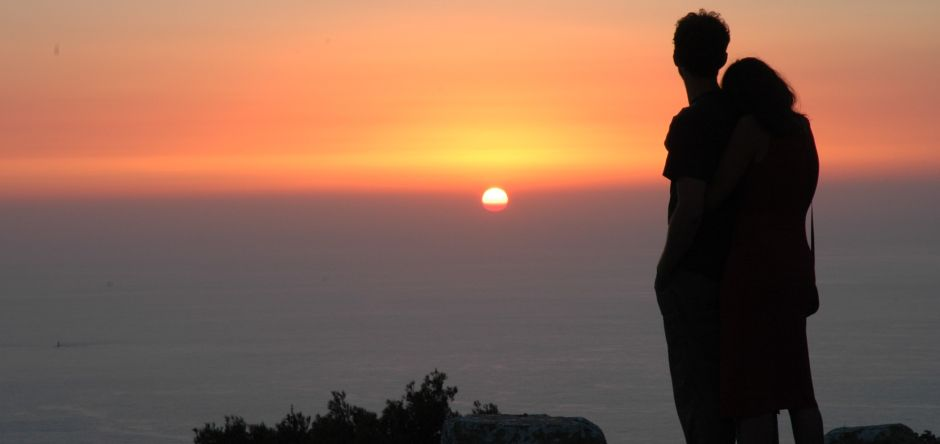 Tramonto a Erice