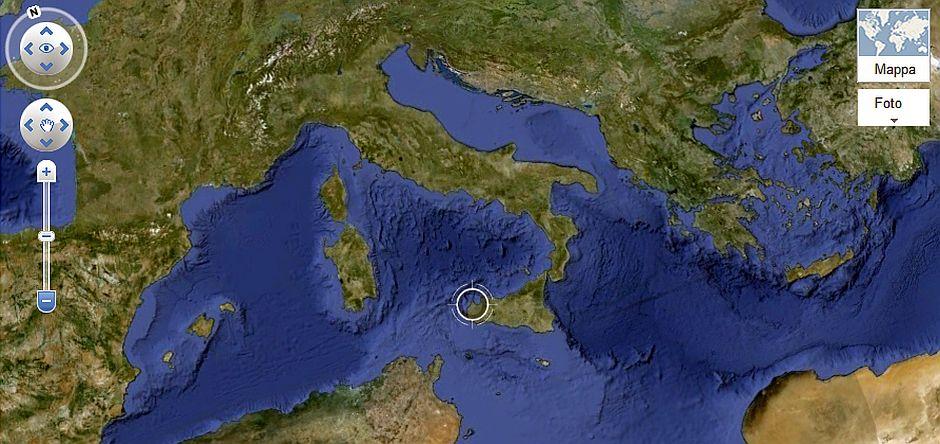 Dove Siamo (immagine googlemaps)